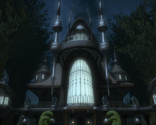 Final Fantasy XIV: A Realm Reborn [Beta Phase 1]—Dungeon Exterior Top