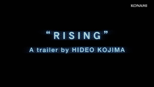 Metal Gear Rising: Revengeance | Hideo Kojima Trailer | Title