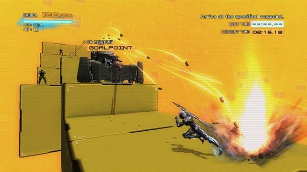 Metal Gear Rising: Revengeance VR Mode