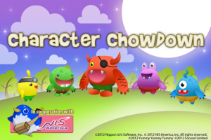 NISA Feb 21 Event - Character Chowdown