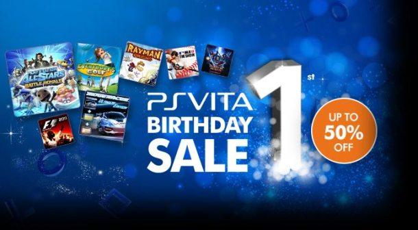 PS Vita Anniversary Sale