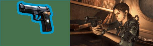 Resident Evil: Revelations HD | Jill Valentine DLC Samurai Edge Handgun