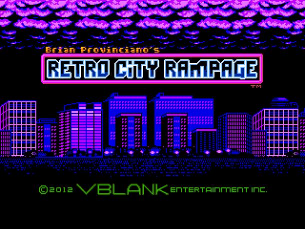 Retro City Rampage Title