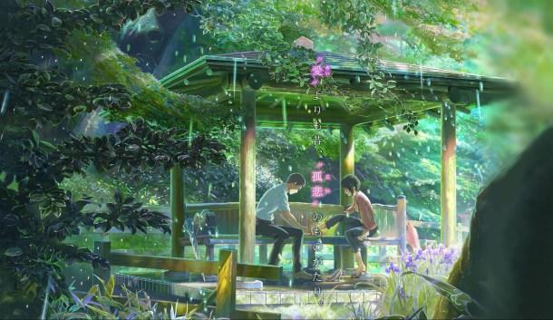 The Garden of Words / Kotonoha no Niwa | Takao and Yukino