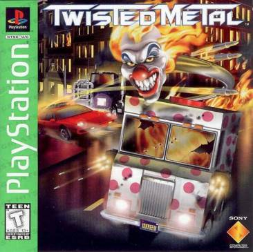 Twisted Metal PS1 Logo