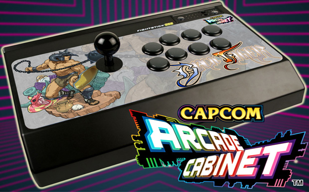 Perfect Mad Catz Capcom Arcade Cabinet Arcade Stick Mock Up With Game Logo