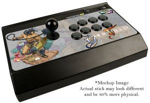 Mad Catz Capcom Arcade Cabinet arcade stick mock-up