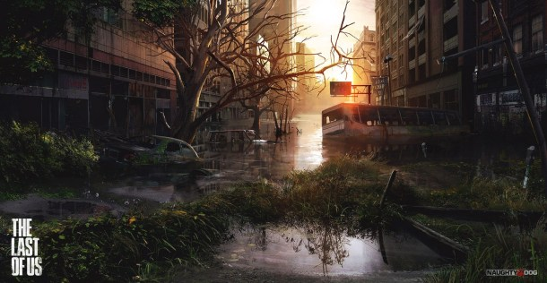 The Last of Us - city ruins screenshot