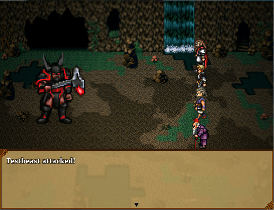 Terra Incognita | Early development battle screenshot