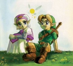 Ocarina of Time Young Zelda Link