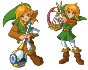 Rod of Seasons and Harp of Ages