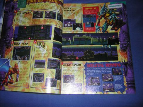 Demon's Crest I Nintendo Power