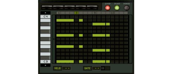 KORG M01D | Screenshot