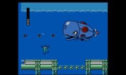 Mega Man 4 (3DS Virtual Console) | Dive Man's stage