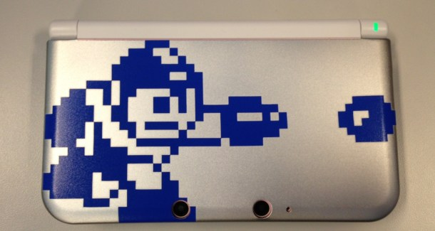 Mega man 3DS case