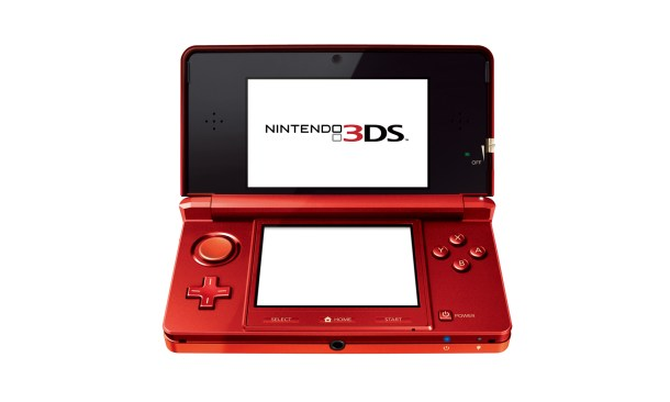 Nintendo-3DS Red