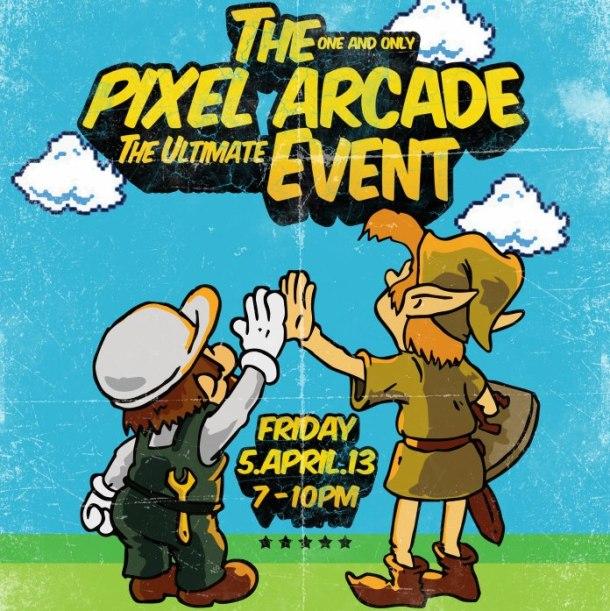 Pixel Arcade - Poster