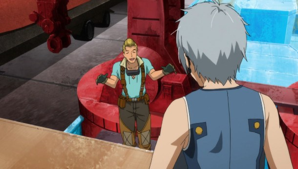 Gargantia Pinion and Ledo