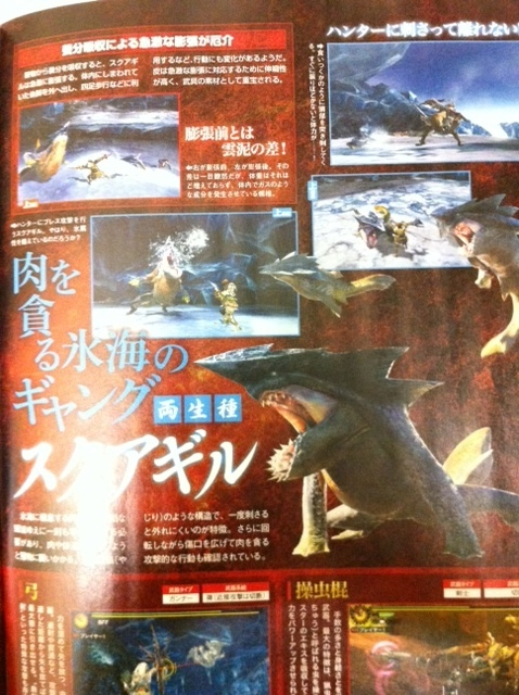 Monster Hunter 4 | Sukuagiru (Famitsu scan)