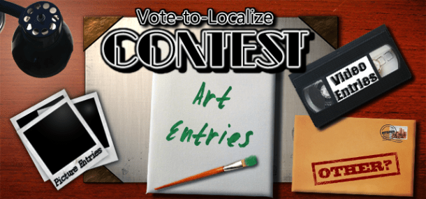 Vote-to-Localize Contest logo