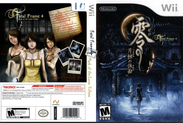 fatal frame 4 box art