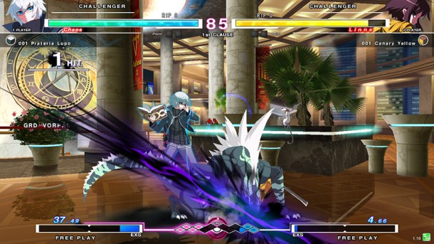 Under Night In-Birth EXE:Late Screencap | OpRain