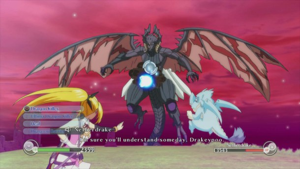 Time and Eternity | Towa battles a fierce dragon