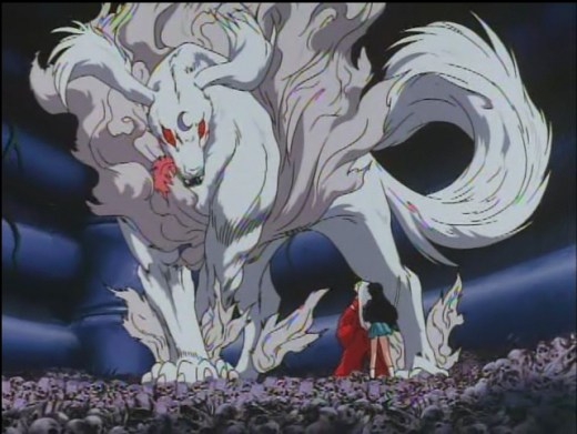 Sesshomaru in Demon form.