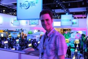 Nintendo Booth Tour Jonathan