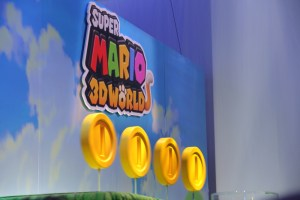 E3 2013 Nintendo Super Mario 3D Land Display Close Up