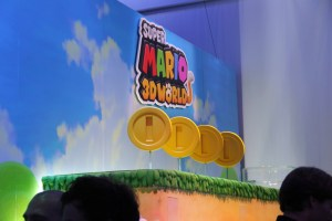Nintendo Super Mario 3D Land Logo Display