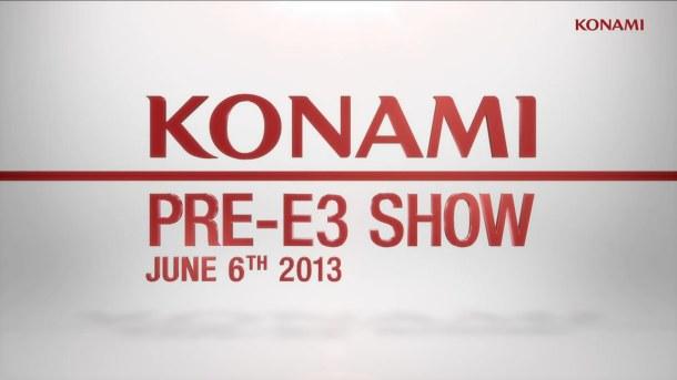 Konami Pre-E3 Show 2013 logo