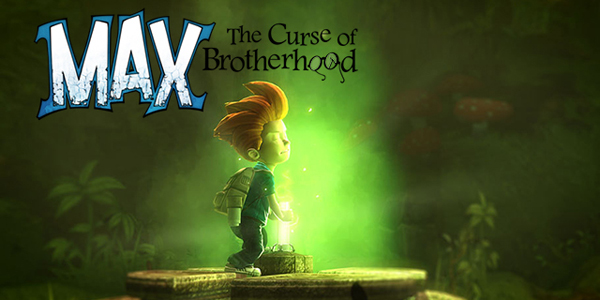 Max: The Curse of Brotherhood logo