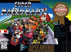 New for Wii U Virtual Console - Super Mario Kart