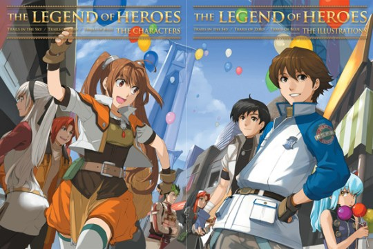 Legend of Heroes - The Characters and Illustrations