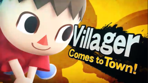 Super  Smash Bros. - Villager
