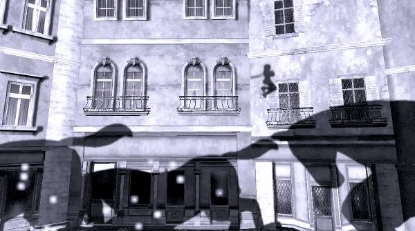 Contrast shadow platforming