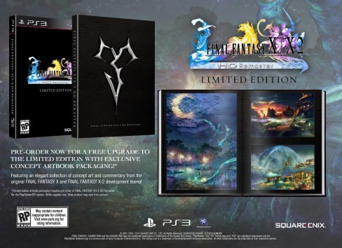 Final Fantasy X / X-2 HD Remaster Limited Edition Package