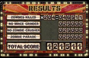 Undead Bowling  | Total Score