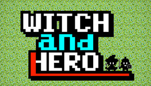 Witch and Hero logo