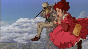 whisper of the heart shizuku and baron fantasy