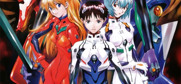 Neon Genesis Evangelion | Asuka, Shinji, Rei FEATURED