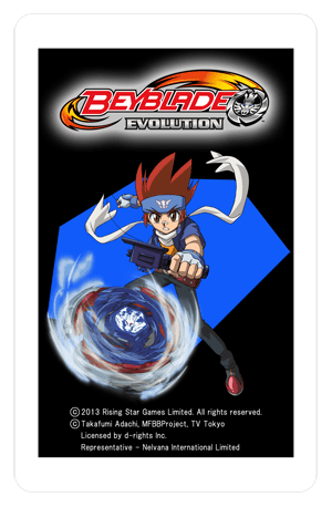 BEYBLADE Evolution - AR card