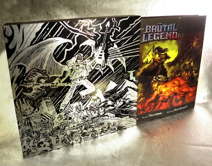 UDON Entertainment - Brutal Legend Comic-Con Book- oprainfall