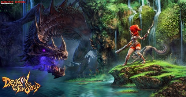 Dragon Fin Soup | Red Robin fighting a dragon