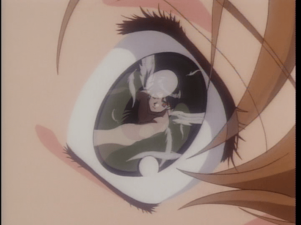The Vision of Escaflowne I Hitomi Sees An Angel