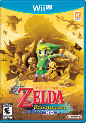 The Wind Waker HD: North America Box