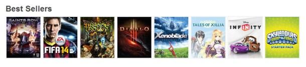 Xenoblade: On Gamestop's Best Seller List Again