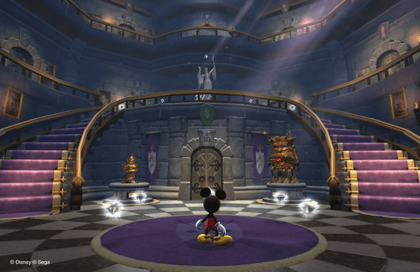 3D Castle of Illusion - oprainfall
