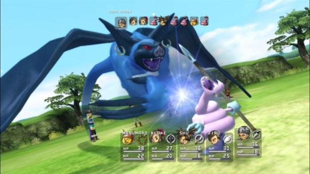 Blue Dragon   Battle Order